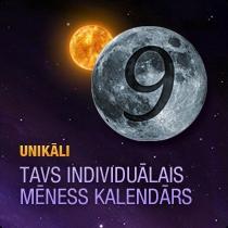 Tavs individuālais Mēness kalendārs
